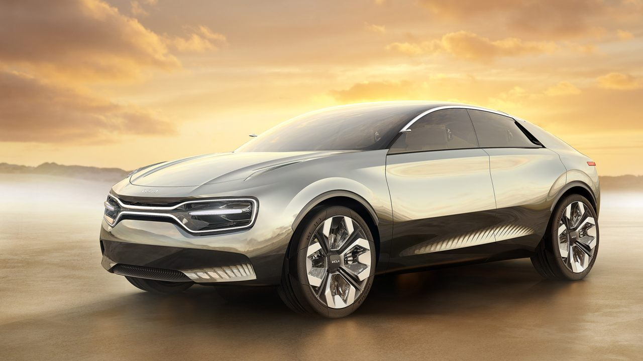Concept car Imagine by Kia volledig elektrisch
