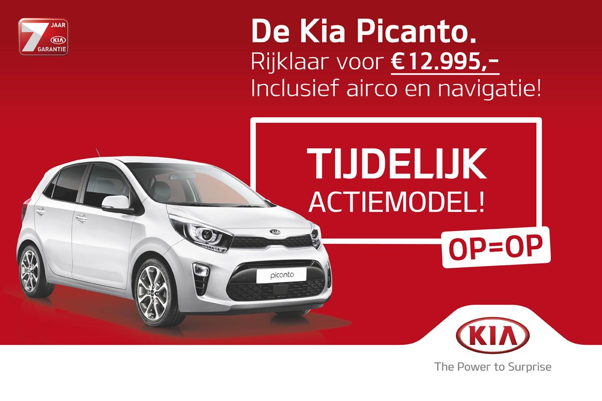 Kia Picanto ComfortLine Navigator Actie