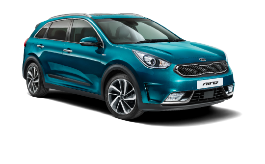 Nu in onze showroom: de Kia NIRO