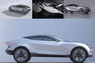 Kia presenteert Futuron Concept voor elektrische SUV-coupé