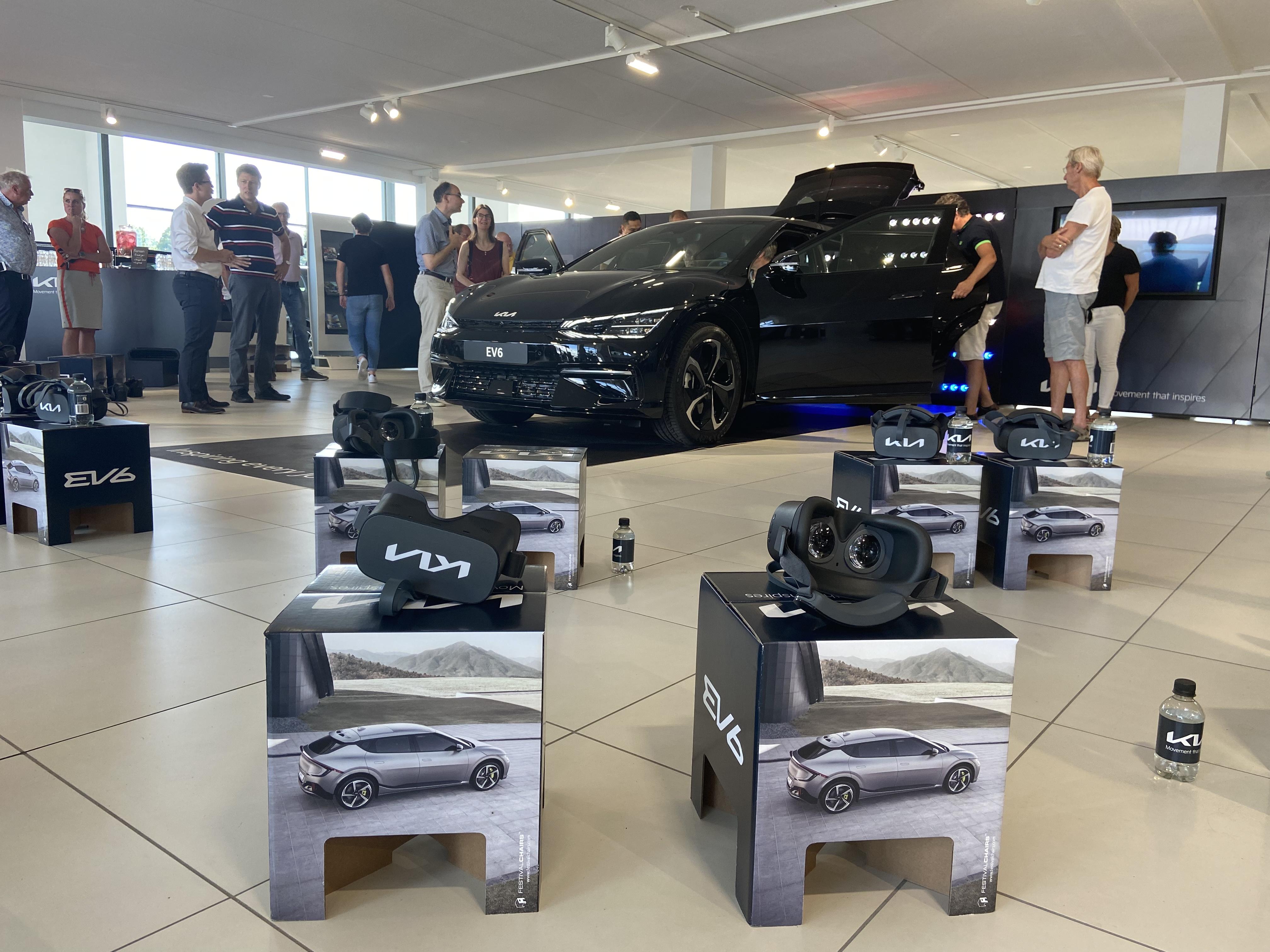De exclusieve Kia EV6 Experience bij ons in de showroom