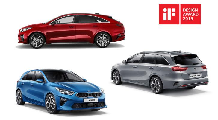 Kia Motors sleept voor derde keer op rij de iF Design Awards binnen