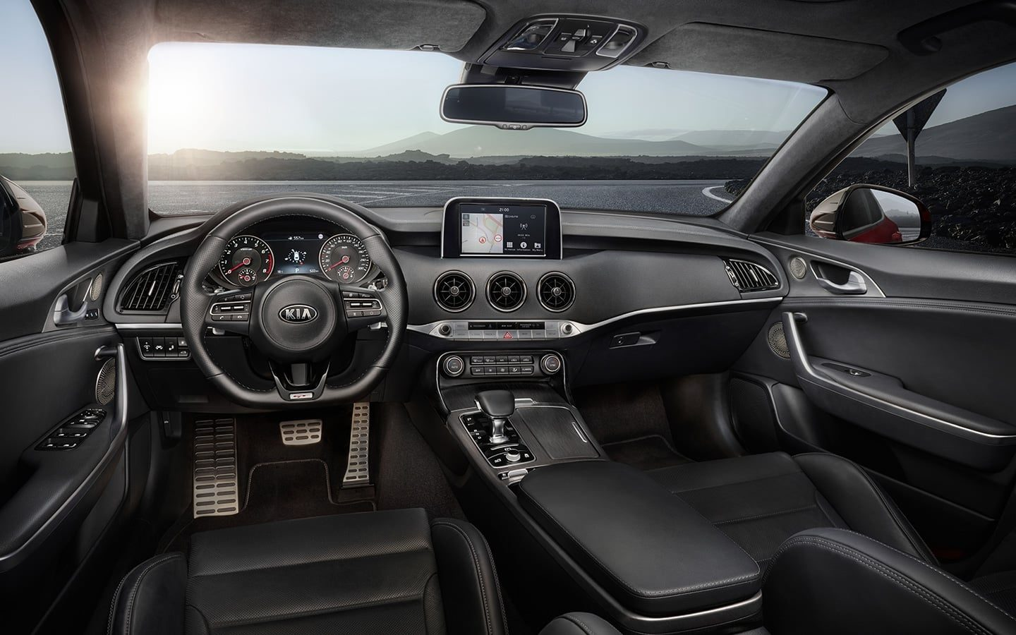 Kia Stinger interieur