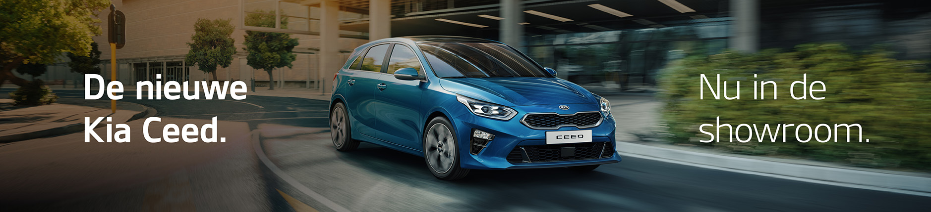 Nieuwe Kia Ceed in showroom